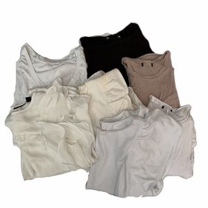 Lot of 7 random blouses all sizes